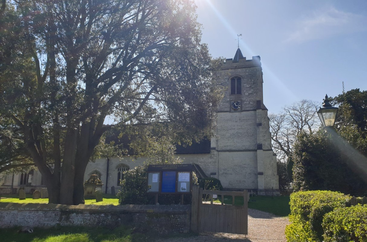 Grantchester Church 21st March 2020 (2)