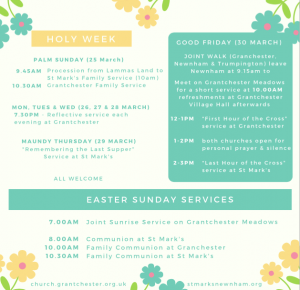 Lent, Holy Week & Easter 2